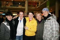 Empfang der Olympiateilnehmer am Flughafen Erfurt
