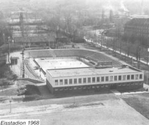 Eisstadion in den 50iger Jahren