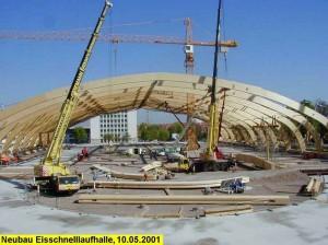 Neubau Eisschnelllaufhalle